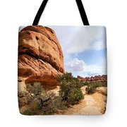 Canyonlands Needles Trail Tote Bag