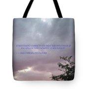 Capability Tote Bag by Sonali Gangane