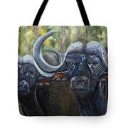 Cape Buffalo 2 Tote Bag