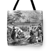 Cape Cod: Pilgrims Tote Bag
