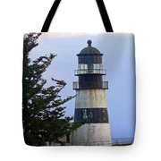 Cape D Lighthouse Tote Bag