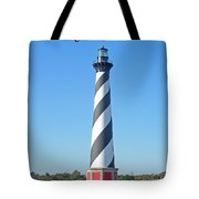 Cape Hatteras Lighthouse - Outer Banks - Christmas Card Tote Bag