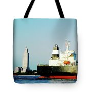 Capitol View Mississippi River Tote Bag
