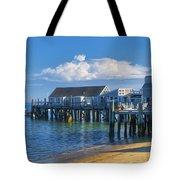 Captain Jack's Wharf Tote Bag