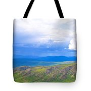 Captivating Showers Tote Bag