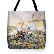 Capture Of Fort Fisher 15th January 1865 Tote Bag