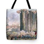 Capture Of The Bastille Tote Bag by Granger