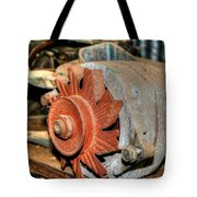 Car Alternator Tote Bag