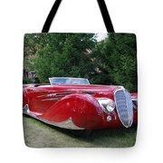 Car At Meadowbrook Tote Bag