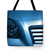 Car Face Tote Bag