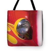 Car Headlight Tote Bag by Garry Gay