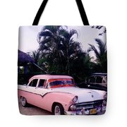 Car Show At The Resort Tote Bag