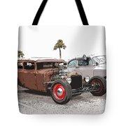 Car Show Cool Tote Bag by Steve McKinzie