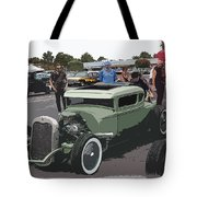 Car Show Coupe Tote Bag by Steve McKinzie