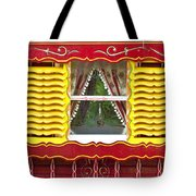 Caravan Window Tote Bag