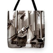 Carcassone Ride Tote Bag