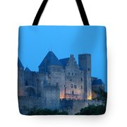 Carcassonne At Twilight Tote Bag