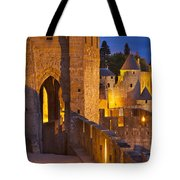 Carcassonne Ramparts Tote Bag