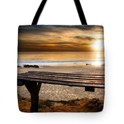 Carcavelos Beach Tote Bag