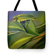 Card Of Fancy Bug Tote Bag