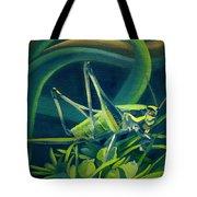 Card Of Mister Grasshopper Tote Bag