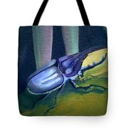 Card Of Nosey Bug Tote Bag