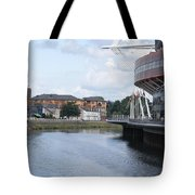 Cardiff In Wales Tote Bag