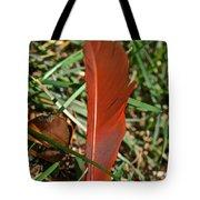 Cardinal Feather Tote Bag