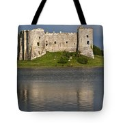 Carew Castle Reflections Tote Bag