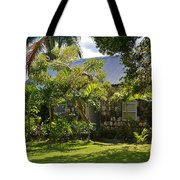 Caribbean Garden Tote Bag