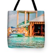 Caribbean-turks And Caicos Sandals Tote Bag