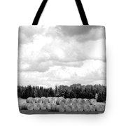 Cariboo Country Hay Bales Tote Bag