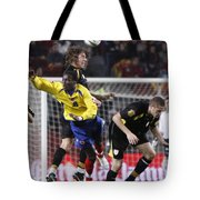Carles Puyol Jumping Tote Bag