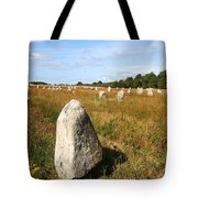 Carnac Standing Stones Tote Bag