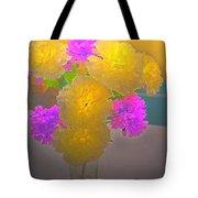 Carnation Glow Tote Bag