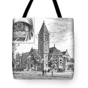 Carnegie Library, 1890 Tote Bag
