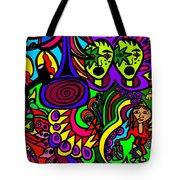 Carnival Day Tote Bag