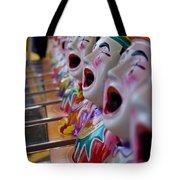 Carnival Of Clowns Tote Bag
