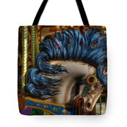 Carousel Beauty Star Of The Show Tote Bag