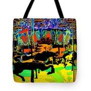 Carousel Colors Tote Bag