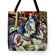 Carousel Horse 2 Tote Bag by Paul Ward
