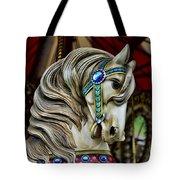 Carousel Horse 3 Tote Bag by Paul Ward