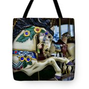 Carousel Horse 5 Tote Bag by Paul Ward