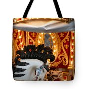 Carousel In Motion Tote Bag