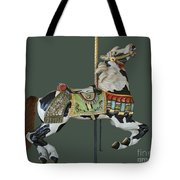 Carousel Paint Horse Tote Bag