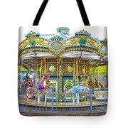 Carousel Ride In Pittsburgh Pennsylvania Tote Bag