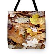 Carpet Of Leaves Tote Bag