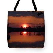 Carrabelle Sunset Tote Bag