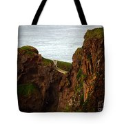 Carrick-a-rede Bridge II Tote Bag