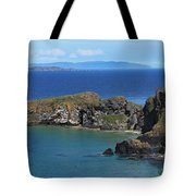 Carrick-a-rede Rope Bridge In The Tote Bag
